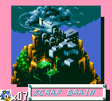 Sonic The Hedgehog - World Map Scrap Brain Zone -  - User Screenshot